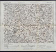 Karte des westlichen Russlands 1:100 000 - E 37. Nowo Radomsk