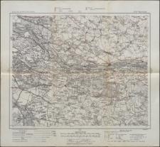 Karte des westlichen Russlands 1:100 000 - F 32. Wyszogród