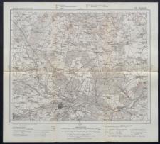 Karte des westlichen Russlands 1:100 000 - F 35. Tomaszów Gouv. Piotrków