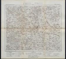 Karte des westlichen Russlands 1:100 000 - G 30. Ciechanów
