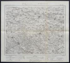 Karte des westlichen Russlands 1:100 000 - G 33. Błonie