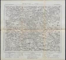 Karte des westlichen Russlands 1:100 000 - J 32. Stanisławów