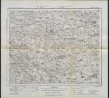 Karte des westlichen Russlands 1:100 000 - J 33. Nowo-Mińsk