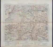 Karte des westlichen Russlands 1:100 000 - L 29. Tykocin