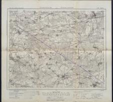 Karte des westlichen Russlands 1:100 000 - L 34. Łuków