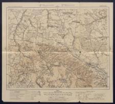 Karte des westlichen Russlands 1:100 000 - L 38. Turobin