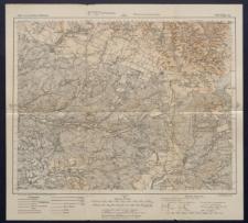 Karte des westlichen Russlands 1:100 000 - L 39. Biłgoraj