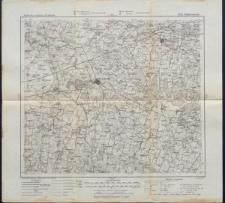 Karte des westlichen Russlands 1:100 000 - M 23. Wyłkowyszki