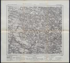 Karte des westlichen Russlands 1:100 000 - Q 21. Pozelwa