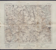 Karte des westlichen Russlands 1:100 000 - Q 29. Słonim