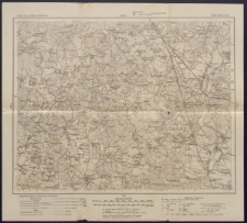 Karte des westlichen Russlands 1:100 000 - Q 38. Rożyszcze