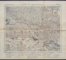Karte des westlichen Russlands 1:100 000 - R 32. Motol