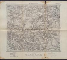 Karte des westlichen Russlands 1:100 000 - S 23. Worniany