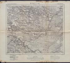 Karte des westlichen Russlands 1:100 000 - S 26. Ljubtscha