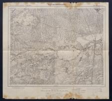 Karte des westlichen Russlands 1:100 000 - T 33. Luninjetz (Süd)