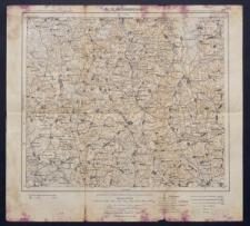 Karte des westlichen Russlands 1:100 000 - U 25. Radoschkowitschi (Radoszkowicze)