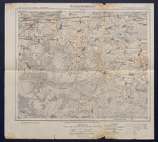Karte des westlichen Russlands 1:100 000 - U 30.Szemjeshewo (Siemieżewo)