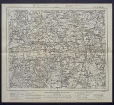 Karte des westlichen Russlands 1:100 000 - C 32. Sompolno