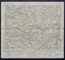 Karte des westlichen Russlands 1:100 000 - C 36. Złoczew