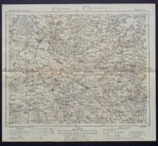 Karte des westlichen Russlands 1:100 000 - D 36. Szczerców