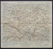 Karte des westlichen Russlands 1:100 000 - D 37. Działoszyn