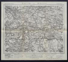 Karte des westlichen Russlands 1:100 000 - E 33. Kutno