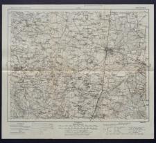 Karte des westlichen Russlands 1:100 000 - E 36. Piotrków