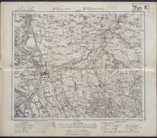 Karte des westlichen Russlands 1:100 000 - F 33. Łowicz