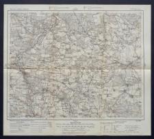 Karte des westlichen Russlands 1:100 000 - F 36. Opoczno