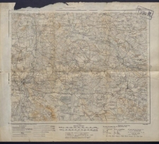 Karte des westlichen Russlands 1:100 000 - F 37. Przedbórz