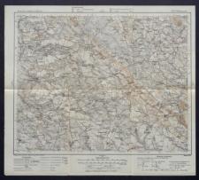 Karte des westlichen Russlands 1:100 000 - F 38. Włoszczowa