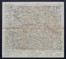 Karte des westlichen Russlands 1:100 000 - G 37. Końskie
