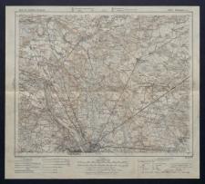 Karte des westlichen Russlands 1:100 000 - H 32. Warszawa (Nord)