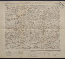 Karte des westlichen Russlands 1:100 000 - H 35. Białobrzegi