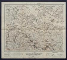 Karte des westlichen Russlands 1:100 000 - H 37. Iłża