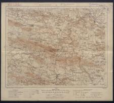 Karte des westlichen Russlands 1:100 000 - H 38. Kunów