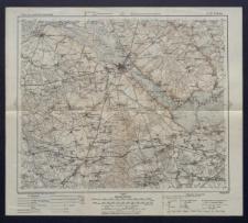Karte des westlichen Russlands 1:100 000 - K 29. Łomża