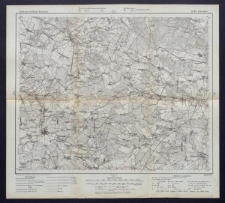 Karte des westlichen Russlands 1:100 000 - K 34. Żelechów