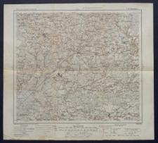 Karte des westlichen Russlands 1:100 000 - L 20. Skaudwile