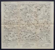 Karte des westlichen Russlands 1:100 000 - L 33. Łosice