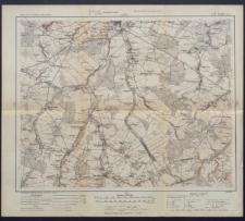 Karte des westlichen Russlands 1:100 000 - L 37. Lublin (Süd)