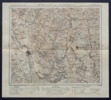 Karte des westlichen Russlands 1:100 000 - M 25. Suwałki