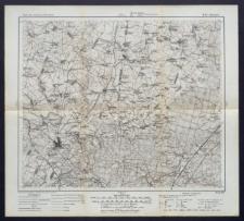 Karte des westlichen Russlands 1:100 000 - M 28. Knyszyn