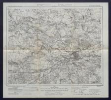 Karte des westlichen Russlands 1:100 000 - N 33. Brest Litowsk
