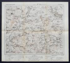 Karte des westlichen Russlands 1:100 000 - O 28. Indura