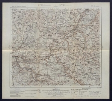 Karte des westlichen Russlands 1:100 000 - P 21. Giełwany