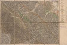 Atlas geologiczny Galicyi 1:75 000 - Pas 10 Słup XI Porohy