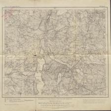 Karte des Deutschen Reiches 1:100 000 - 128. Bruss