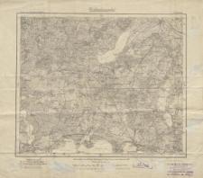 Karte des Deutschen Reiches 1:100 000 - 151. Malchin