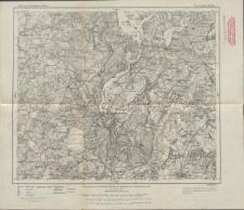Karte des Deutschen Reiches 1:100 000 - 165. Deutsch-Eylau